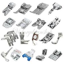 New Presser Foot Feet Kit Set For Singer Brother Janome Domestic Sewing Machines