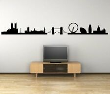 London Panorama Silhouette - Giant Wall Decal & Wall Sticker. Many colours. New!