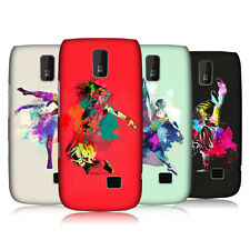 HEAD CASE DANCE SPLASH PROTECTIVE SNAP-ON BACK CASE COVER FOR NOKIA ASHA 308