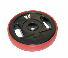 Viny TRI GRIP Disc Weight Plates EZ Bar Curl Barbell Weights Fitness Gym 1 Inch