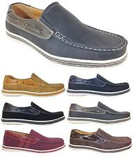 New Men Brixton Boat Shoes Driving Casual Moccasins Slip On Loafers Dacio02
