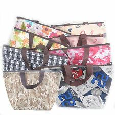 8 Colours Insulated Cooler Bag Portable Thermal Lunch Hand Carry Tote Bag