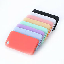 High Quality TPU Rubber Skin Jelly Soft Case Cover For iPhone 4 4G 4S
