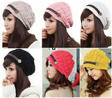 2014 Warm Hi-Korean-Fashion Beanies Gangnam Style Knit Ski Hat cap 6 Colours