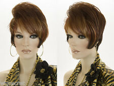 Short Lace Front Wavy Straight Brunette Red Wigs