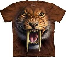 New SABRETOOTH TIGER FACE Youth T Shirt