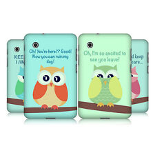 HEAD CASE MEAN OWL HARD BACK CASE COVER FOR SAMSUNG GALAXY TAB 2 7.0 P3100 P3110