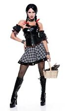 MISTRESS DOROTHY Adult Women's OZ Cosplay Halloween Costume Fancy Dress