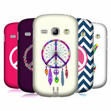 HEAD CASE DESIGNS PEACE EMBLEMS CASE COVER FOR SAMSUNG GALAXY FAME S6810