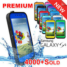 Brand New For Samsung Galaxy S4 i9500 Waterproof Shockproof Hard Case Cover