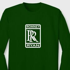 Romney Ryan 2012 Republican T-shirt Party campaign Long Sleeve Tee