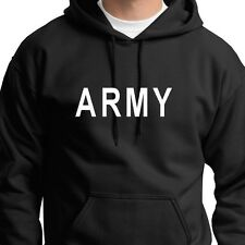 ARMY military T-shirt Issue Training Hoodie Sweatshirt