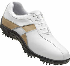 Ladies FootJoy Summer Series Golf Shoes CLOSEOUT White/Taupe 98899 New Womens