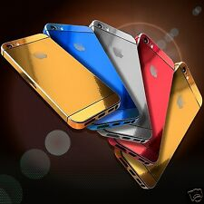 Compatible iPhone 4,4S,5 and 5S Gold Silver Edition Full Body Wrap Decal Sticker
