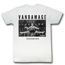 Bloodsport Vandamage Jean Claude Van Damme Licensed Adult Shirt S-XXL