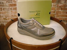 Joy Mangano GetFit SLATE Slip-On 2 Fitness Sneakers by Grasshoppers