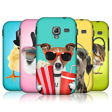 HEAD CASE FUNNY ANIMALS SNAP-ON BACK CASE COVER FOR SAMSUNG GALAXY ACE 2 I8160