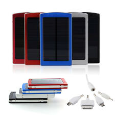 10000mAh Solar Power Panel Bank External Battery Charger for iPhone 6 5s 4s 4