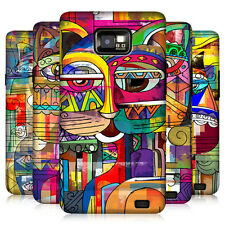 HEAD CASE DESIGNS AZTEC CAT HARD BACK CASE COVER FOR SAMSUNG GALAXY S2 II I9100