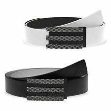 2014 Adidas 3-Stripes Trophy Reversible Golf Belt 100% Leather **Cut-to-Size**