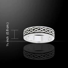 Celtic Trinity Knot Ring TRI769 Size Selectable