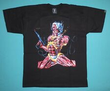Iron Maiden - Somewhere Back in Time T-shirt  Eddie Gun
