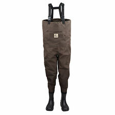 Hodgman Pond Hollow Non-Slip Boot Fishing Wader Insulated Brown