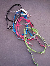 NEW WEAVER ZEBRA HEADSTALL ALL COLORS UNTAMED COLLECTION HORSE SIZE TACK