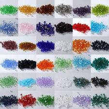Free Shipping DIY Jewelry 400pcs 4mm Glass Crystal #5301 Bicone beads YOU PICK