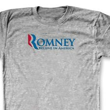 ROMNEY Believe In America 2012 Election T-shirt Republican Vote Tee Shirt