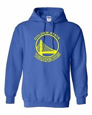 Golden State Warriors Logo Hooded Sweatshirt (Sizes Youth S - Adult  5XL)