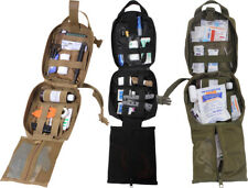Rip-Away EMT Emergency Supply Pouch MOLLE First Aid Kit Tri-Fold Case
