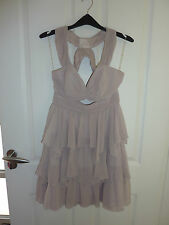 LIPSY Gorgeous Frill Hem Baby Doll Dress Size 10 RRP £65 NWT