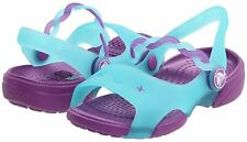 Crocs Emelina  Girls Summer Sandals - Toddlers Size 6 7 8 9 10