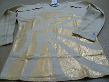 Official adidas Olympics London 2012 Team GB Women's Stella McCartney Gold Top
