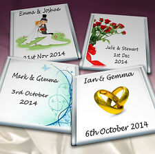 50 Personalised Chocolate Wedding Favours Birthday.Party* TOP QUALITY*4 Flavours