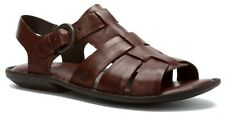 Born Men's Chamberlain Casual Strap Leather Sandals Cacao H18406