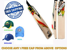 FREE SHIP New 2014 Model ~SPARTAN CHRIS GAYLE~Cricket Bat + Free Cap~Nokd~Oil