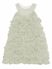 Isobella & Chloe Darleen White Tiered Spring & Summer Dress 12M-4T $44-$48 NWT