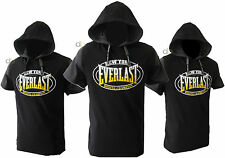 Everlast Hoodie Mens Sleeveless Gym Training Workout Boxing Top Sizes S to 4XL