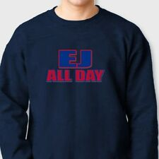 EJ ALL DAY New Yorks Buffalo Bills Tee jersey E.J. Manuel 3 Crew Neck Sweatshirt