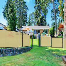 6'x50' FT Net Fence Privacy Screen Windscreen Mesh Fabric Cover Slat Canopy