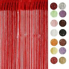 Chic String Curtain with Bead Sequin Spangle Fringe Panel Room Door Divider