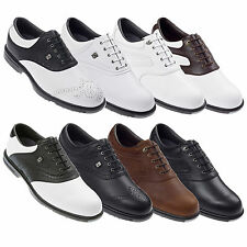 FOOTJOY MENS AQL GOLF SHOES - NEW FJ LEATHER WATERPROOF SPORT 2013