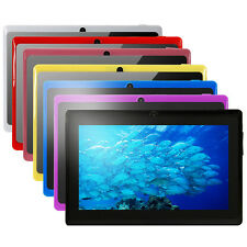"7 Colors 7"" 8G/16G Quad Core Android 4.4 Tablet PC Capacitive Cortex A7 Cameras"