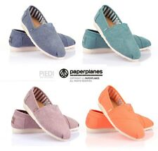 PAPERPLANES slip on high quality espadrilles casual fashion shoes PP1197