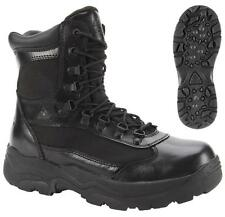 NEW ROCKY FORT HOOD 8in. Duty Work Military Leather Boots Black FQ0002049