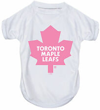 NEW TORONTO MAPLE LEAFS PET DOG PINK PERFORMANCE T-SHIRT ACTIVE TEE ALL SIZES