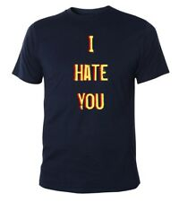 Mister Merchandise Cooles Fun T-Shirt  I Hate You