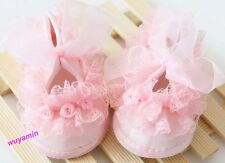 New Style Beautiful Non-Slip Newborn Shoes Baby Toddler Shoes With Lace 2 Colors